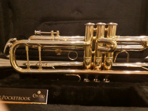 Mendini by Cecilio B flat trumpet like new