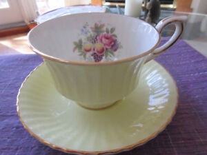 Pretty Yellow florals - Paragon Cup and Saucer