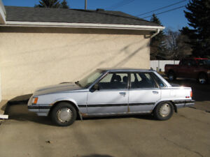One owner 1986 Camry LE. 233000 km. Excellent condition.