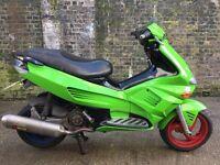 2005 Gilera Runner VX VXR 125cc learner legal 125 cc with 210cc racing kit. 1 years MOT.