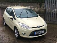 Ford Fiesta 1.4 Ztec, DIESEL, £20 TAX UP TO 80 MPG,5 DOOR, SERVICE HISTORY