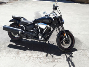 Moto Yamaha RoadStar Warrior