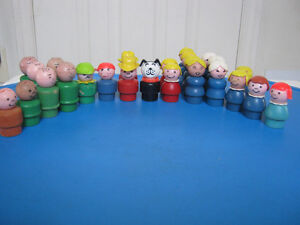 Vintage Fisher Price Little People(wooden) Oakville / Halton Region Toronto (GTA) image 1