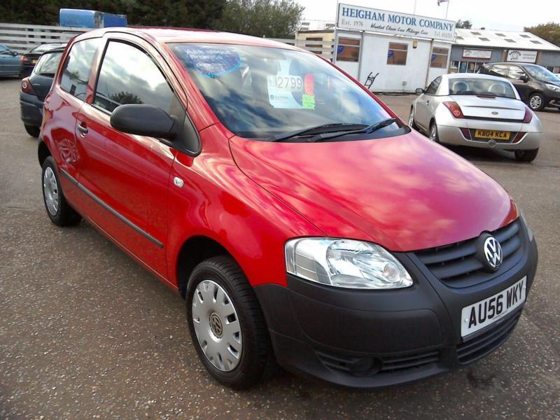 2006 Volkswagen Fox 1.2cc Bright Red 77K Low Insurance Immaculate Condition