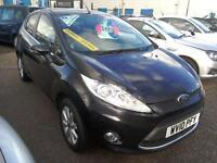2010 Ford Fiesta 1.4TDCi Zetec Black 5Dr Only 66K £20 Road Tax Diesel VGC