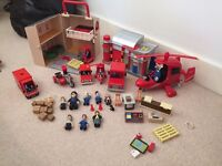 Postman pat toys and books