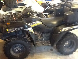 2013 kawasaki brute force 650 no trades