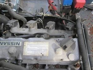Nissan Engine 4 Cylinder with Propane Kit - from Nissan Forklift London Ontario image 4