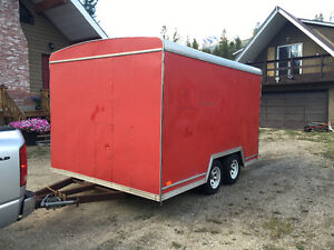 12ft X 8ft Contractor Enclosed Trailer