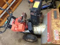 Craftsman 12/32 Snow Blower For Parts Or Repair