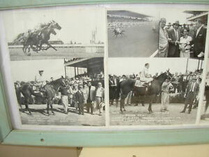 1959-60 Collage of B&W Fort Erie Horse Racing Cambridge Kitchener Area image 4