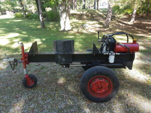 Custom  2 Way 30ton Log Splitter