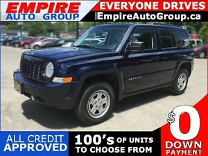 2014 JEEP PATRIOT NORTH * AWD * LOW KM * POWER GROUP