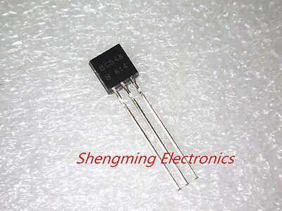100pcs Bc548 Bc548b Npn 30v 0.1a Transistor To-92