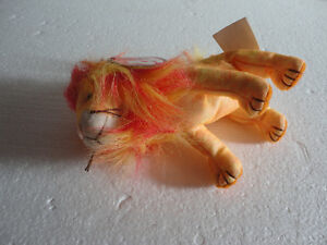 Set of 2 TY Bushy the Lion plush toy collectible Beanie baby NEW London Ontario image 9