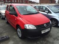 2007 VW Fox 1.2 low mileage