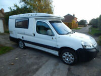 Romahome Hylo Duo, Citroen Berlingo 2.0 Hdi, 2 Berth Campervan, Pop Top FSH
