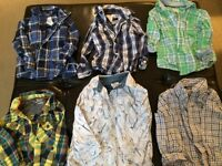 Boys long sleeve size 3 shirts