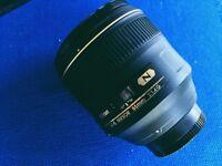 Nikon 85mm 1.4G Nikkor Lens