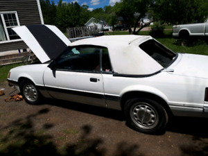 NO RUST MUSTANG 1986 V8 CONVERTIBLE  TRADES WELCOME