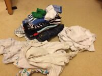 Large 0-3 bundle boy clothes (John Lewis, Mini Club, next, M&S, mothercare) *REDUCED*