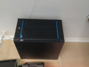Mini Server Housing w/ rolling rack and Dell Server