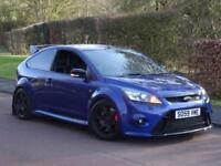 Ford Focus RS 2.5 2009 (59) MK2 FINSHED IN PERFORMANCE BLUE LUX 1