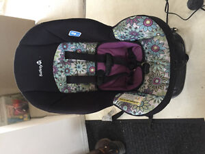 Gently used car seat