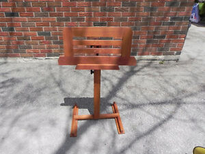 Hand Crafted Music Stand