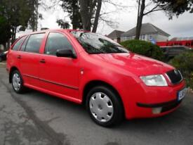 SKODA FABIA 1.4 ESTATE ONLY 25,000 MILES COMPLETE WITH M.O.T HPI CLEAR INC