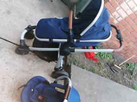 Red kite push chair