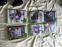 Xbox 360 slim 250GB and games