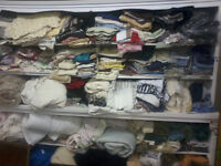 Fabric, Linens, Bedding, Used Clothing & more, P574