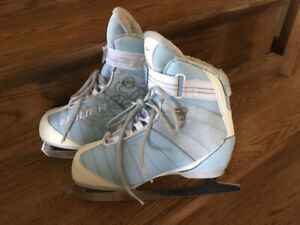 Girl's Bauer Ice Skates For Sale - Size 5
