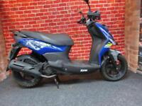 SYM CROX 125cc SCOOTER WITH VERY LOW MILEAGE