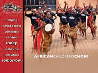 The African Children's Choir is coming to Kingscourt FMC