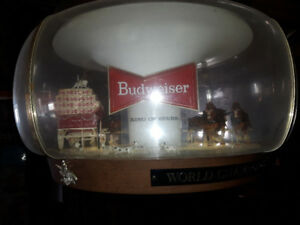 BUDWEISER 1970's CLYDESDALE CAROUSEL- VERY RARE!