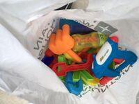 Beach toys and water guns