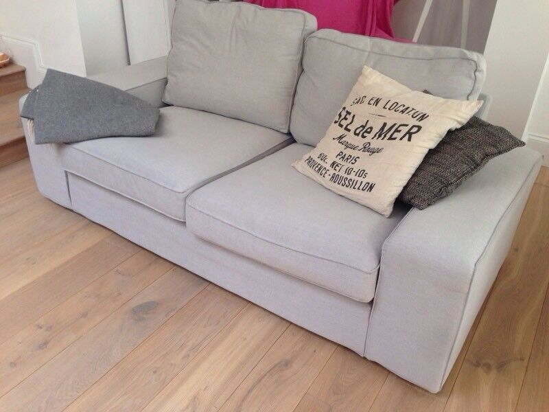 Fine Ikea Kivik Grey Sofa Two Seater In Wimbledon London Gumtree Pabps2019 Chair Design Images Pabps2019Com
