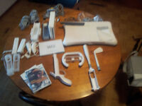 Nintendo Wii in Excellent condition + all the toys.