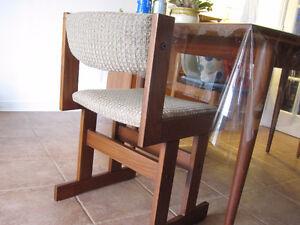 Danish Solid Teak / Teck Dining Chairs - Mid Century Modern