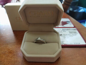 White Gold, Princess Cut Engagement Ring