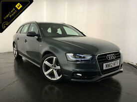 2012 AUDI A4 S LINE TDI DIESEL 141 BHP ESTATE SERVICE HISTORY FINANCE PX WELCOME
