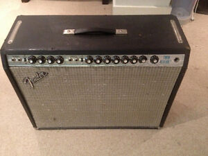 Fender Twin Reverb Amp 1973 Silverface - All Original