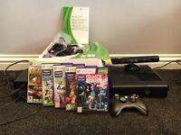 Xbox 360 4Gb slim with Kinect