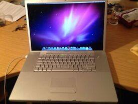 Apple MacBook Pro A1151 Laptop 17 inch