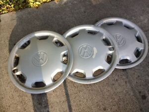 3 VW Wheel Covers (Hubcaps) for FREE