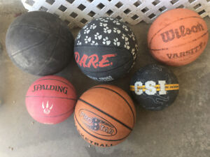 Assorted Basketballs