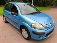 2006 Blue Citroen C3 1.1 5 Dr Hatch CHEAP FIRST CAR Low Insurance Great MPG!!!