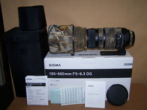 Sigma 150-600mm f5-6.3 DG OS HSM SPORTS  *CANON*